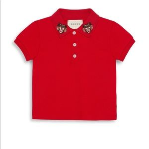 b7eeec2020e Gucci Shirts   Tops - Gucci baby polo brand new